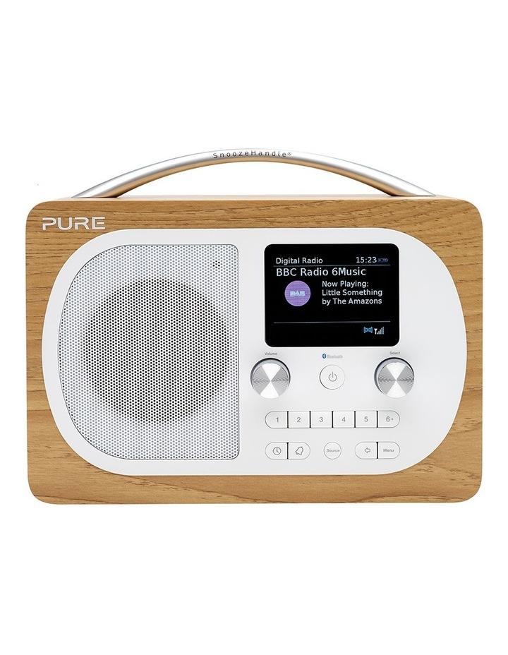 Evoke H4 Oak Portable DAB/DAB  and FM Radio image 1