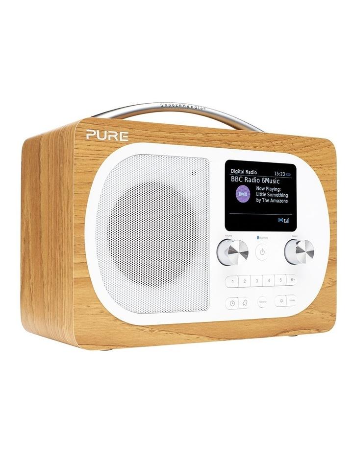 Evoke H4 Oak Portable DAB/DAB  and FM Radio image 2