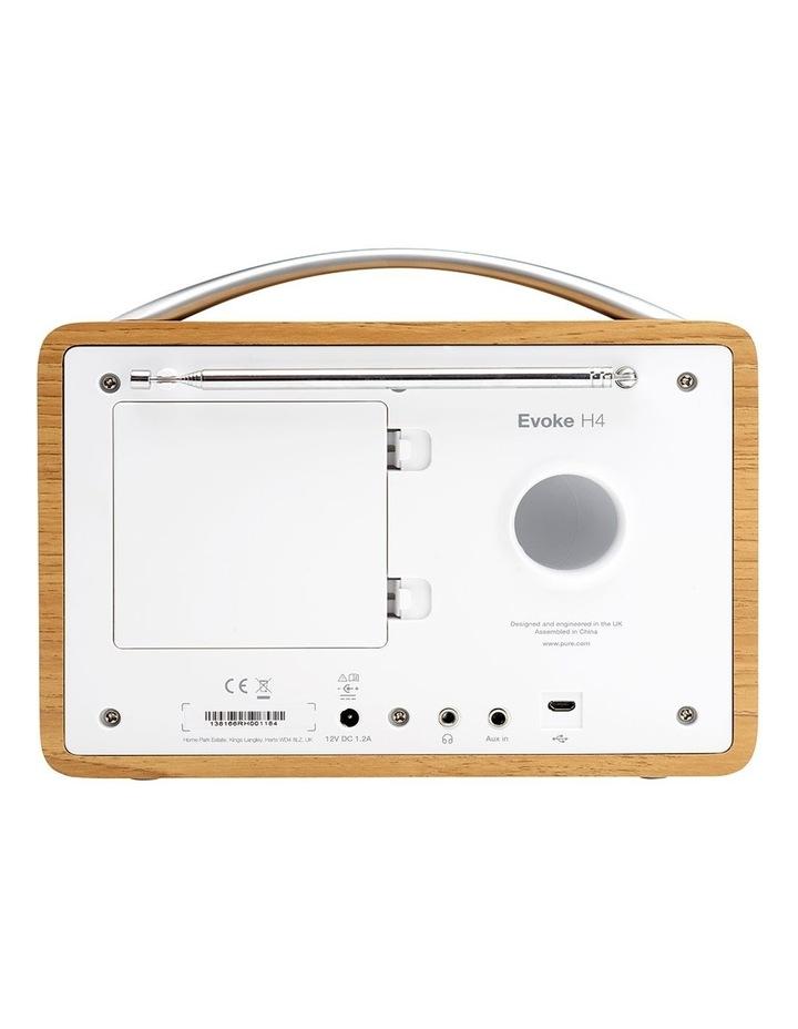 Evoke H4 Oak Portable DAB/DAB  and FM Radio image 4