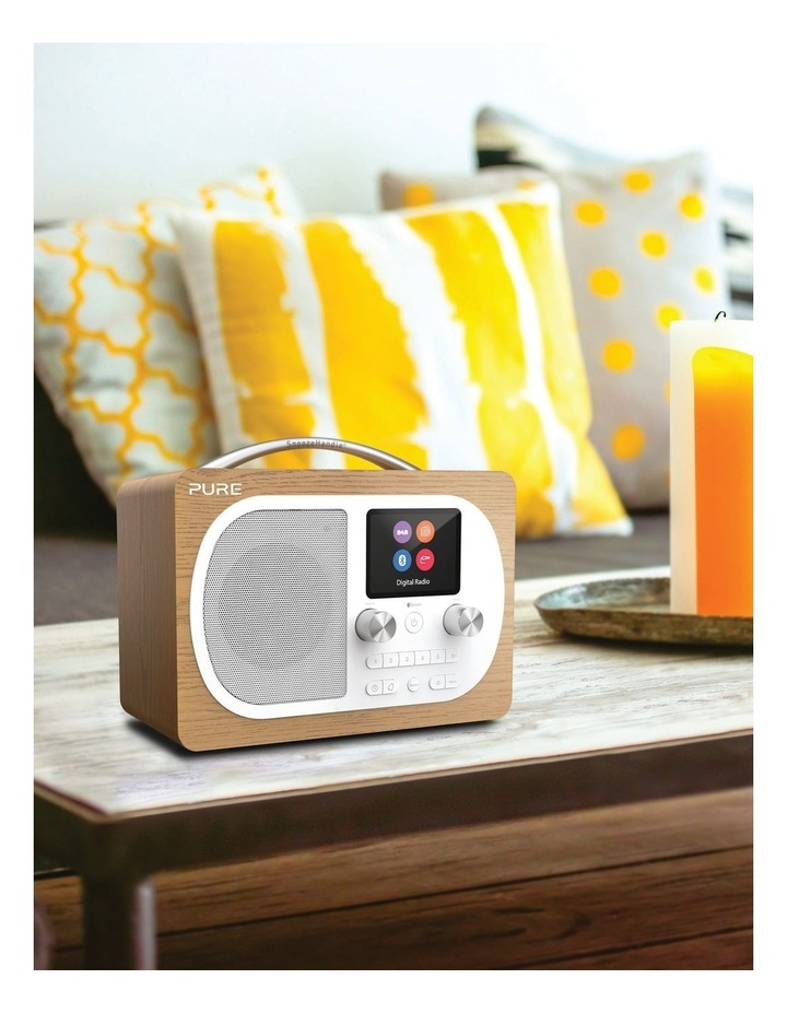 Evoke H4 Oak Portable DAB/DAB  and FM Radio image 5