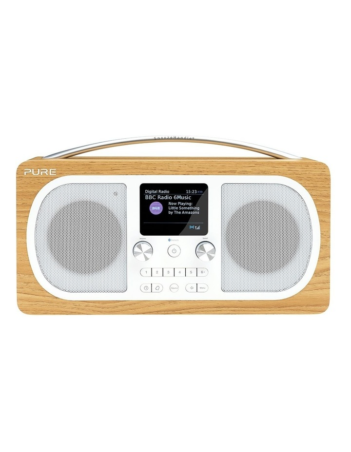 Evoke H6 Stereo DAB/DAB  and FM Radio with Bluetooth - Oak image 1