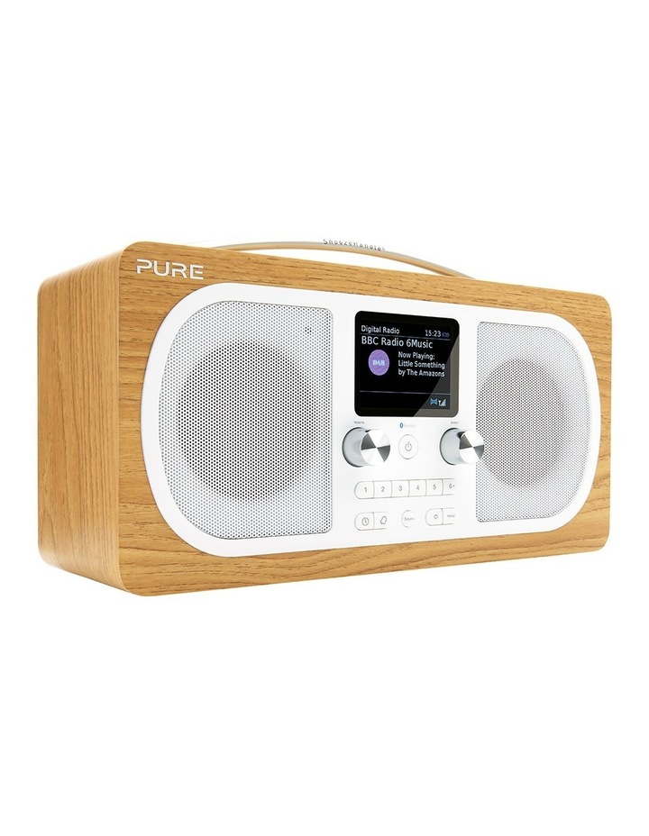 Evoke H6 Stereo DAB/DAB  and FM Radio with Bluetooth - Oak image 2