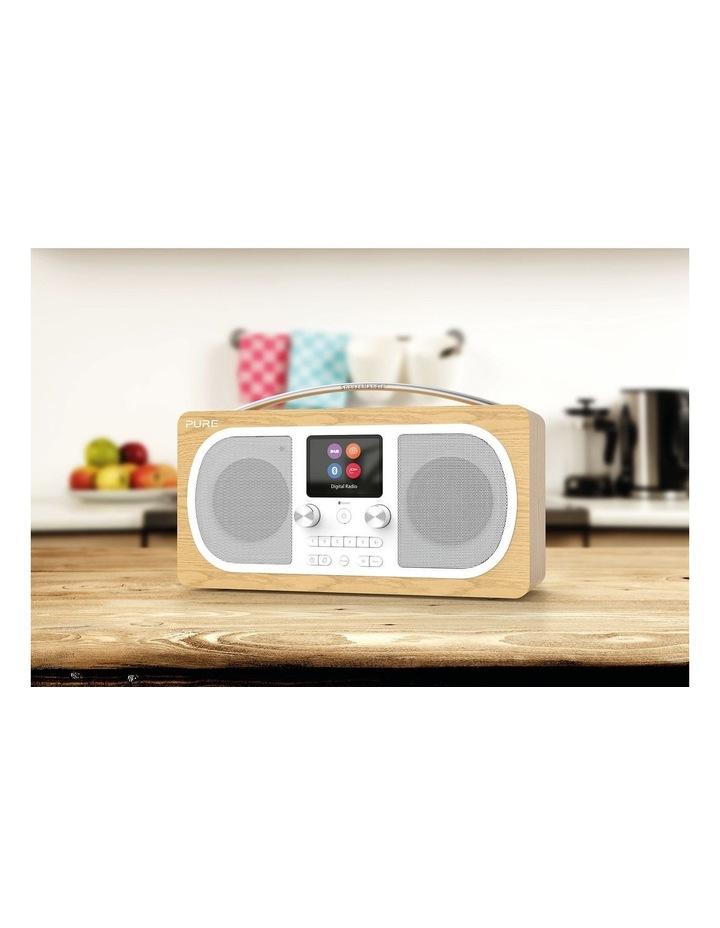 Evoke H6 Stereo DAB/DAB  and FM Radio with Bluetooth - Oak image 5