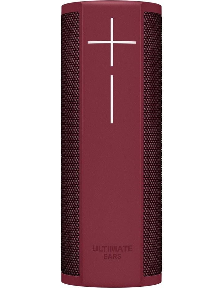 BLAST Portable Smart Speaker - Merlot Red image 1