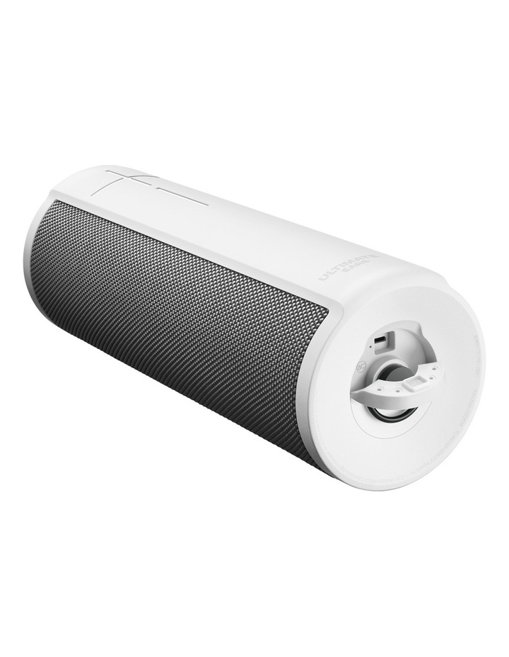MEGABLAST Portable Smart Speaker - Blizzard White image 4