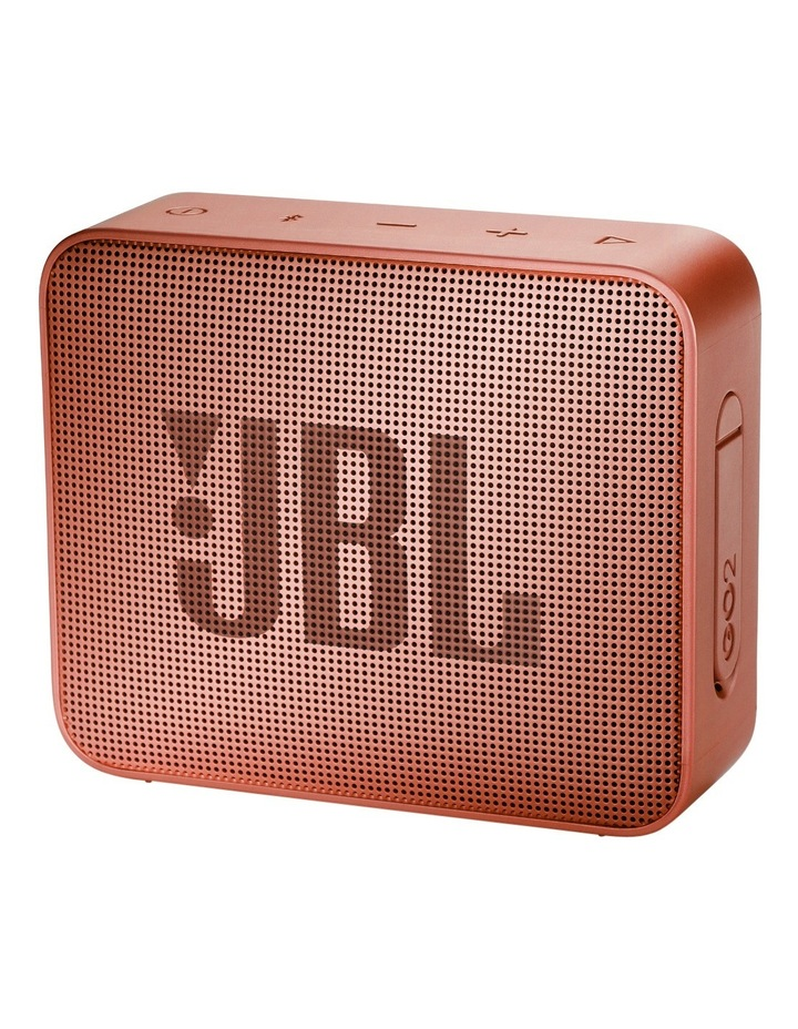 Go 2 portable Bluetooth Speaker Cinnamon image 1