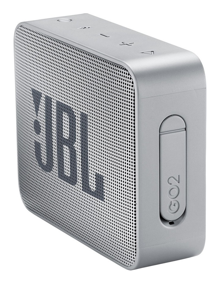 GO 2 Portable Bluetooth Speaker Ash Grey image 2