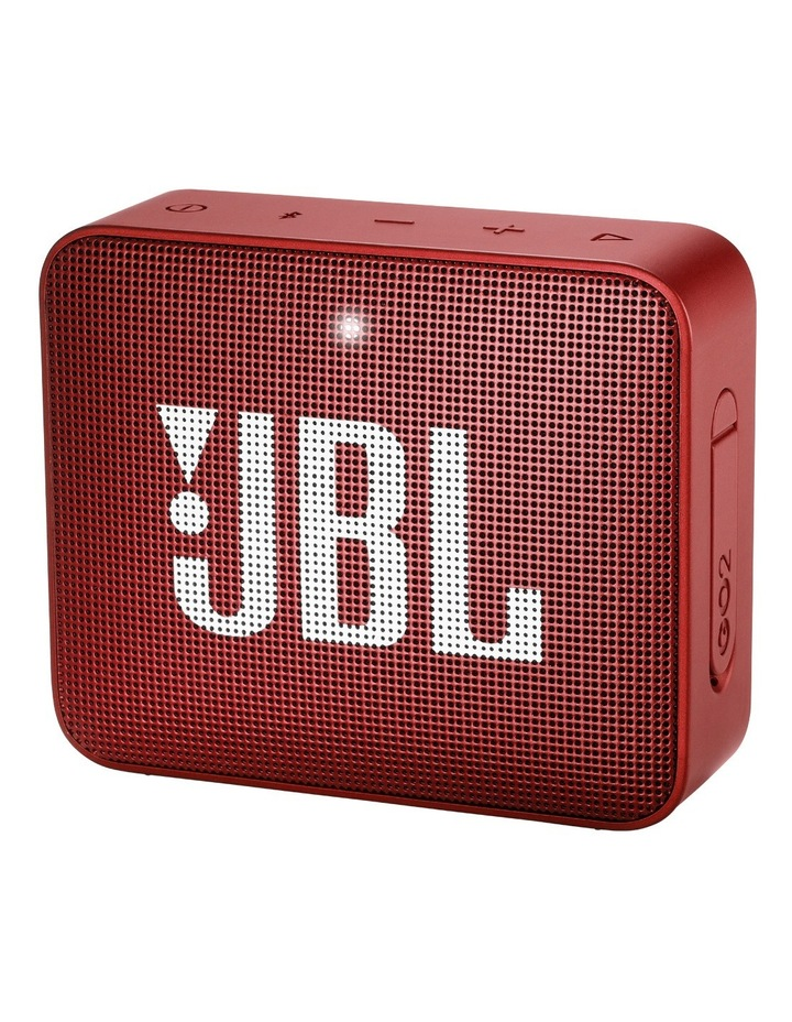 GO 2 Portable Bluetooth Speaker Ruby Red image 1