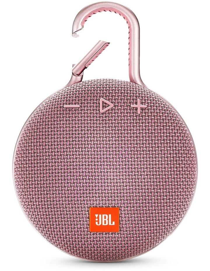 Clip 3 Portable Bluetooth Speaker Pink image 1