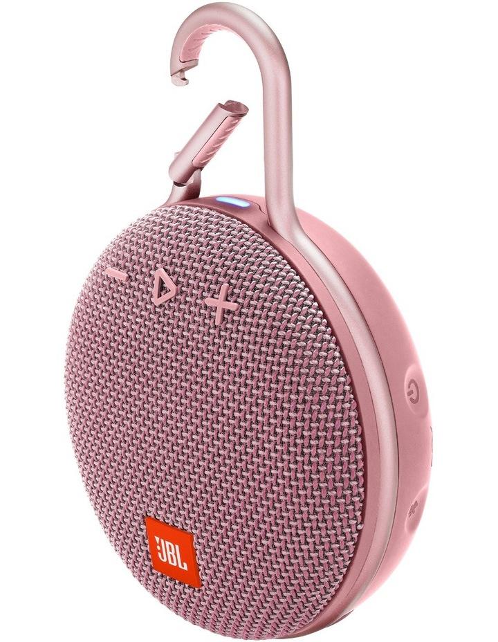 Clip 3 Portable Bluetooth Speaker Pink image 2