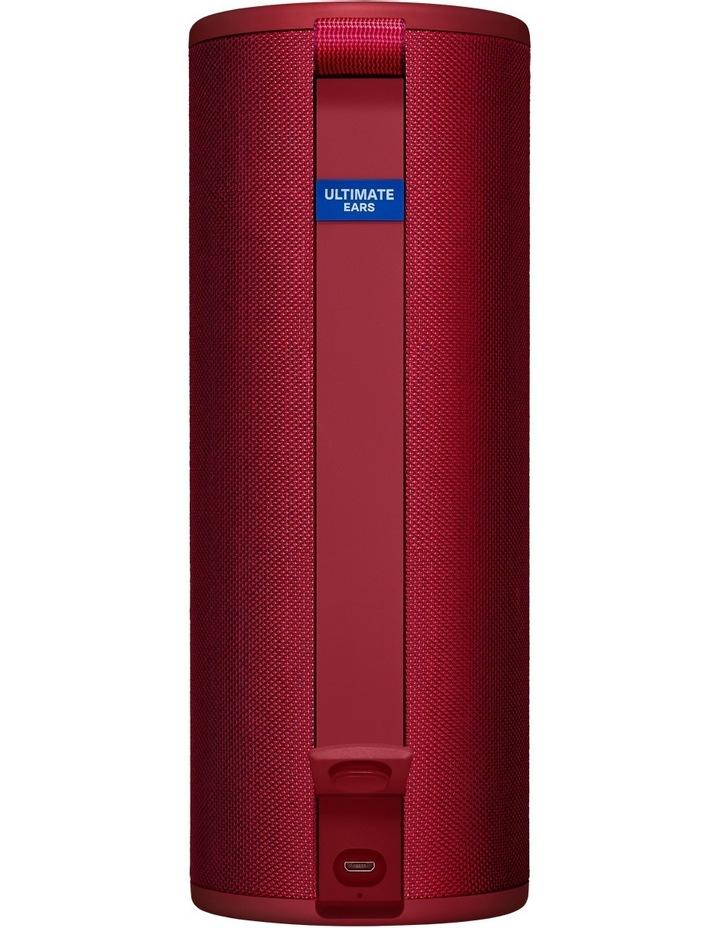 Megaboom 3 Portable Bluetooth Speaker - Sunset Red image 3