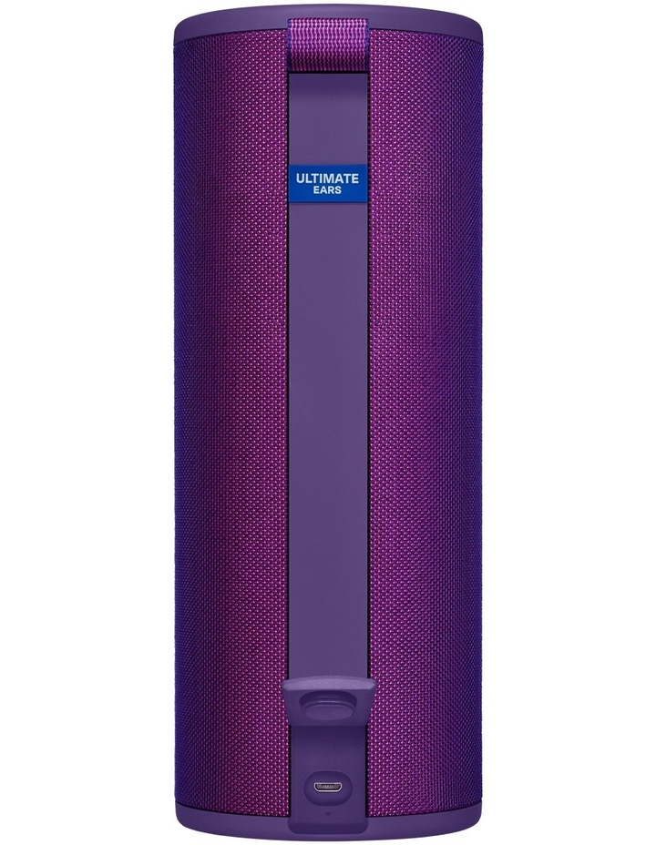 Megaboom 3 Portable Bluetooth Speaker - Ultraviolet Purple image 3
