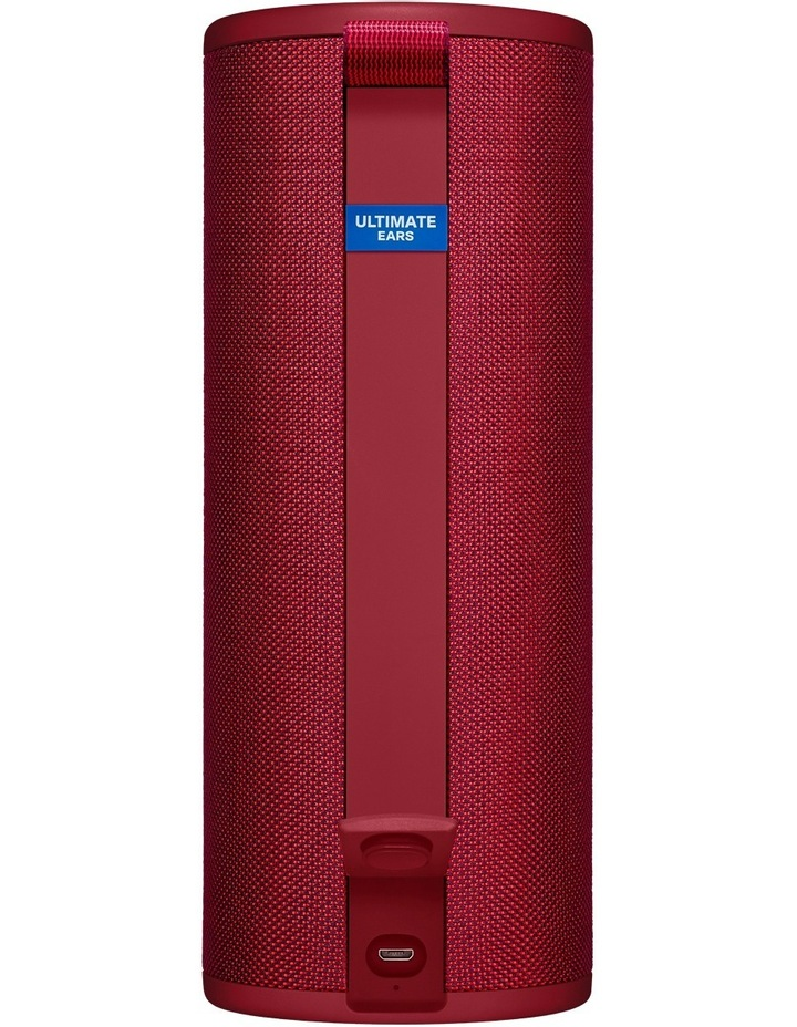 Boom 3 Portable Bluetooth Speaker - Sunset Red image 3