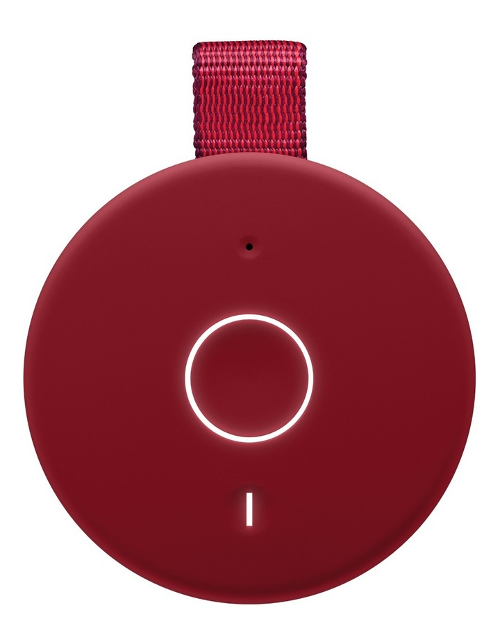 Boom 3 Portable Bluetooth Speaker - Sunset Red image 4