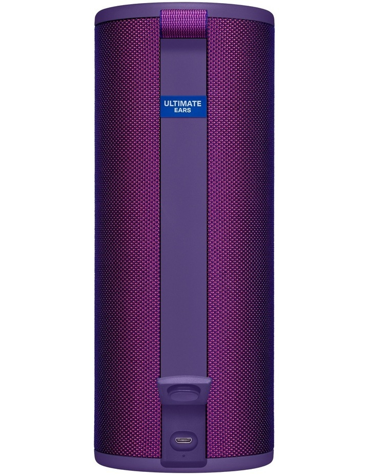 Boom 3 Portable Bluetooth Speaker - Ultraviolet Purple image 3