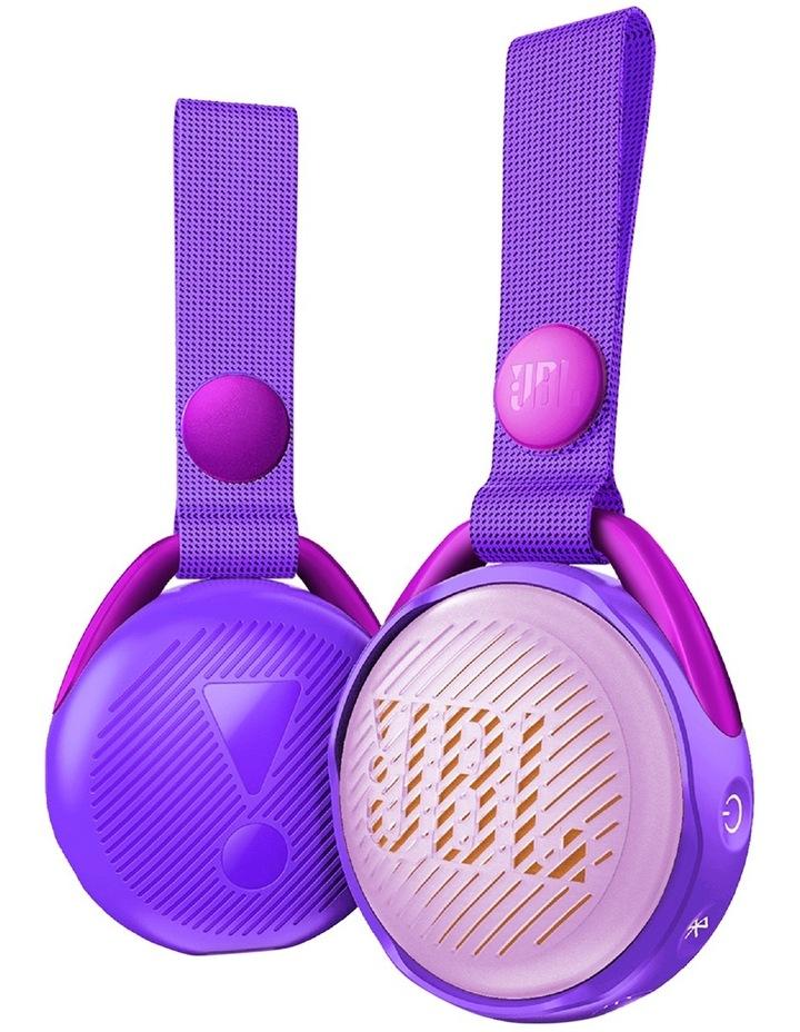 JR POP Kids Bluetooth Speaker Purple image 4