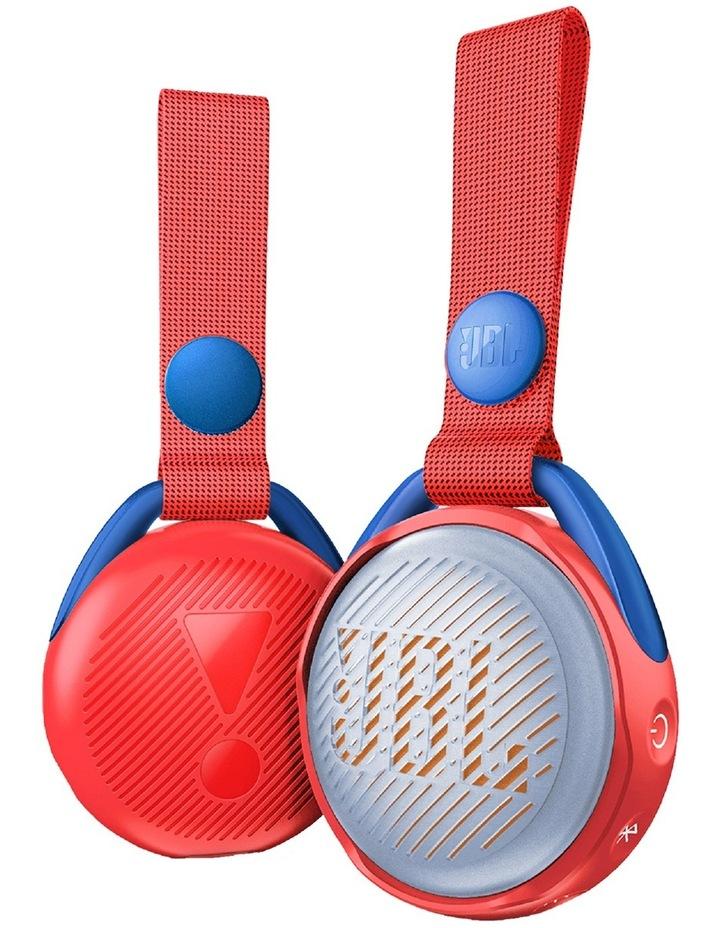 JR POP Kids Bluetooth Speaker Red image 1