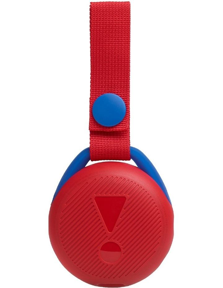 JR POP Kids Bluetooth Speaker Red image 4