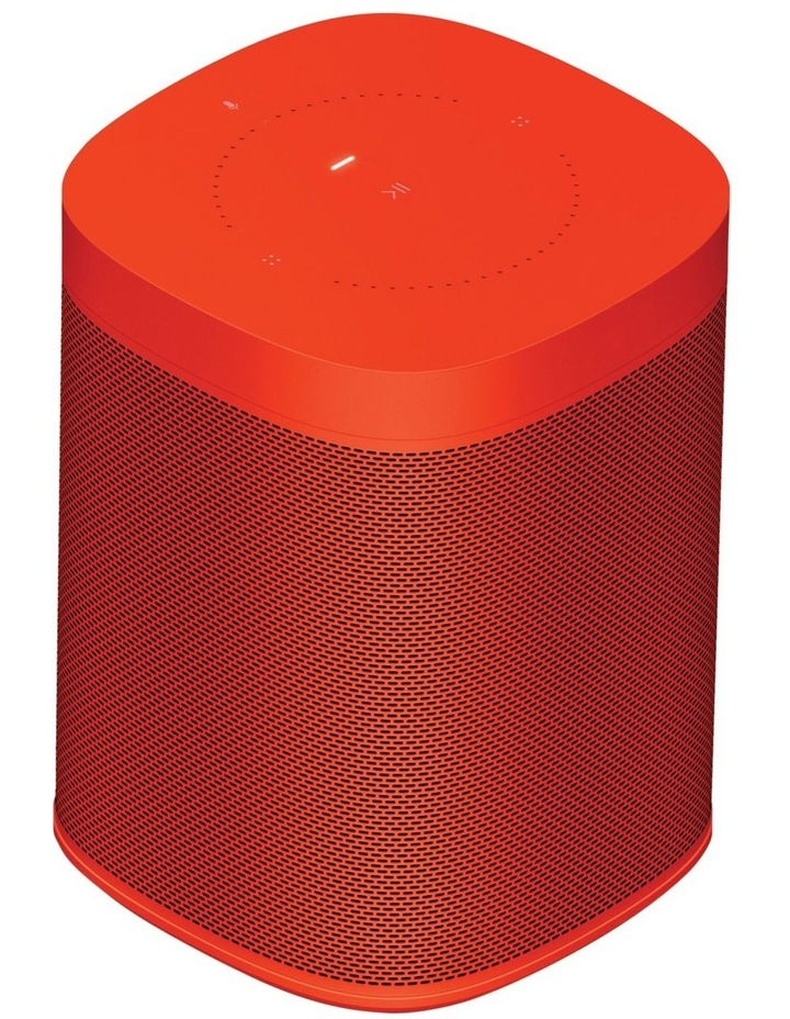 HAY Sonos One Limited Edition Smart Speaker  Vibrant Red image 1