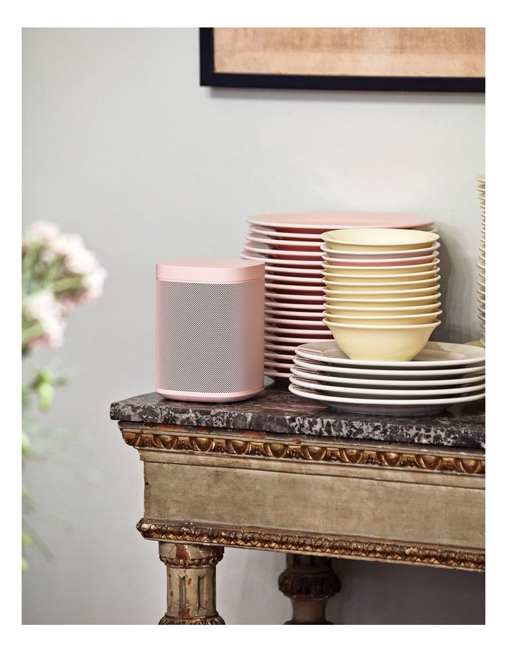 HAY Sonos One Limited Edition Smart Speaker  Soft Pink image 2