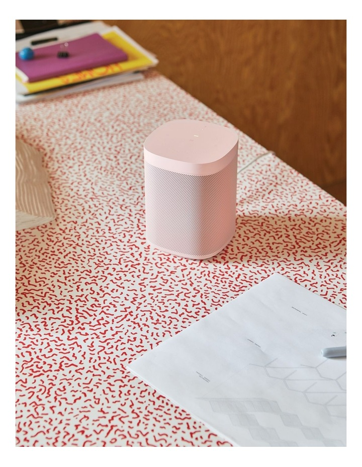 HAY Sonos One Limited Edition Smart Speaker  Soft Pink image 3