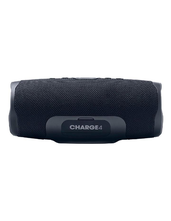 Charge 4 Portable Bluetooth Speaker Black image 2