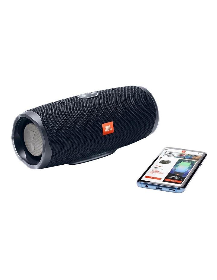 Charge 4 Portable Bluetooth Speaker Black image 4