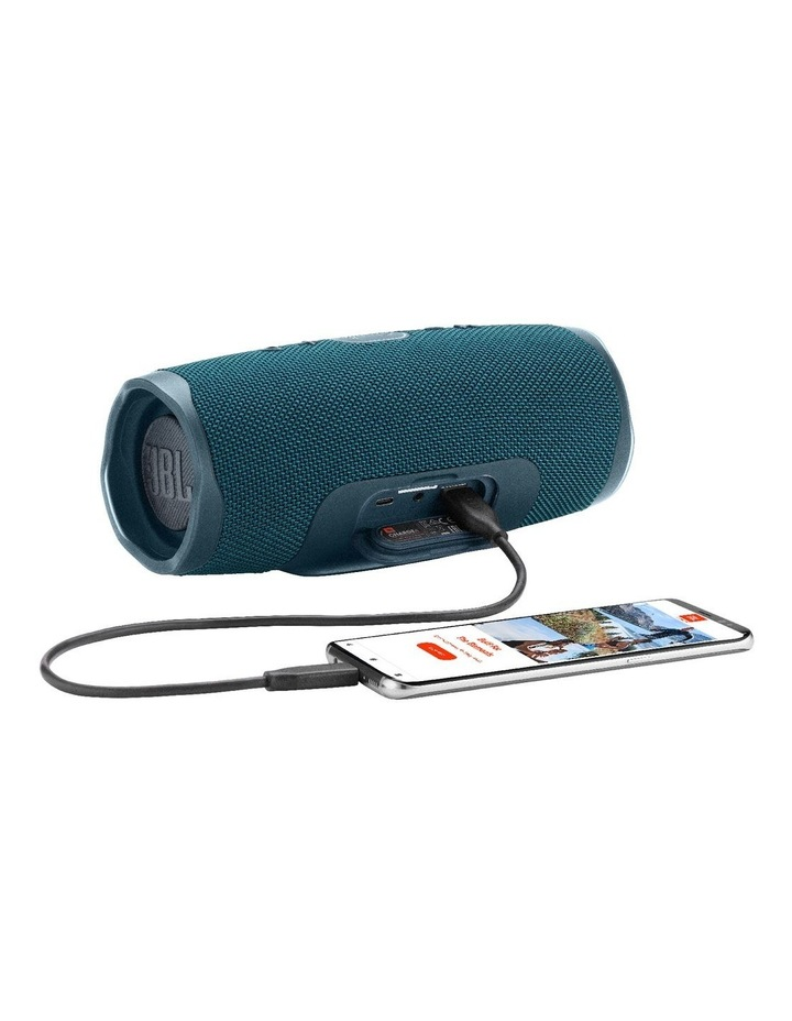 Charge 4 Portable Bluetooth Speaker Blue image 5
