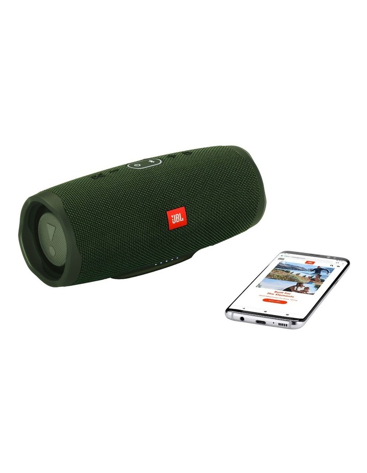 Charge 4 Portable Bluetooth Speaker Forest Green image 5