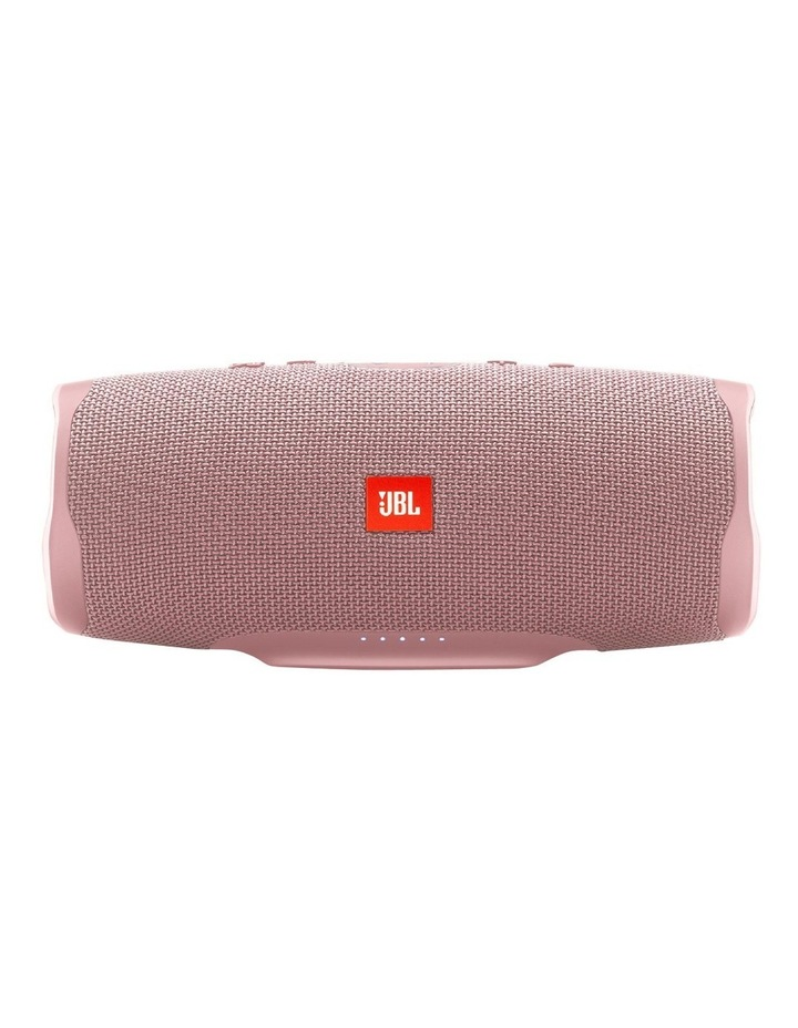 Charge 4 Portable Bluetooth Speaker Pink image 1