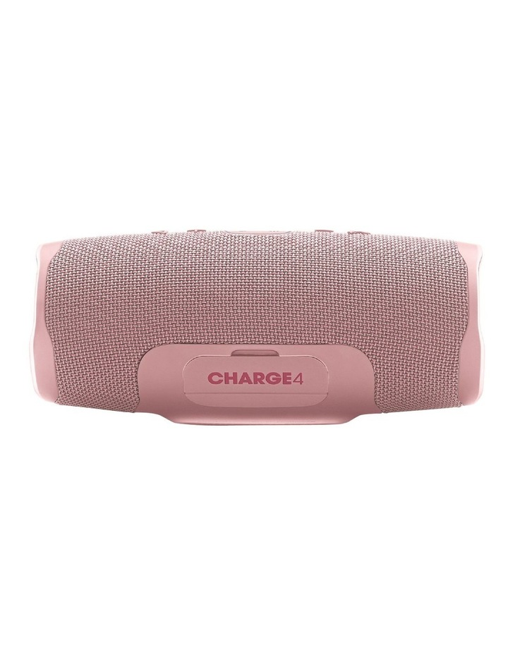 Charge 4 Portable Bluetooth Speaker Pink image 2