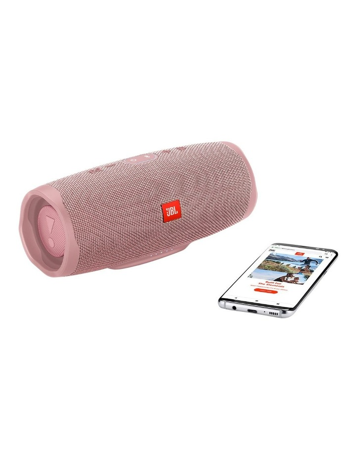 Charge 4 Portable Bluetooth Speaker Pink image 5