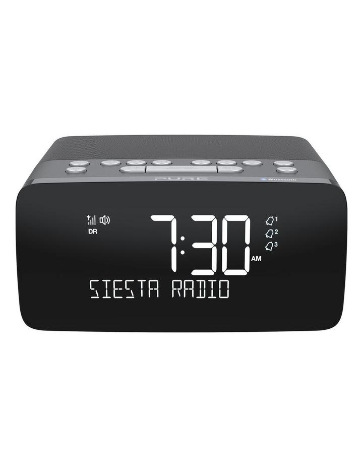 Pure Siesta Charge Dab  Clock Radio W/ Bluetooth & Wireless Charging - Graphite image 1