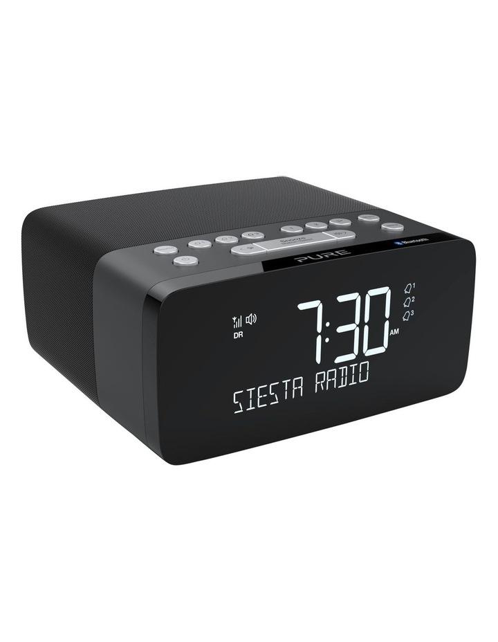 Pure Siesta Charge Dab  Clock Radio W/ Bluetooth & Wireless Charging - Graphite image 3
