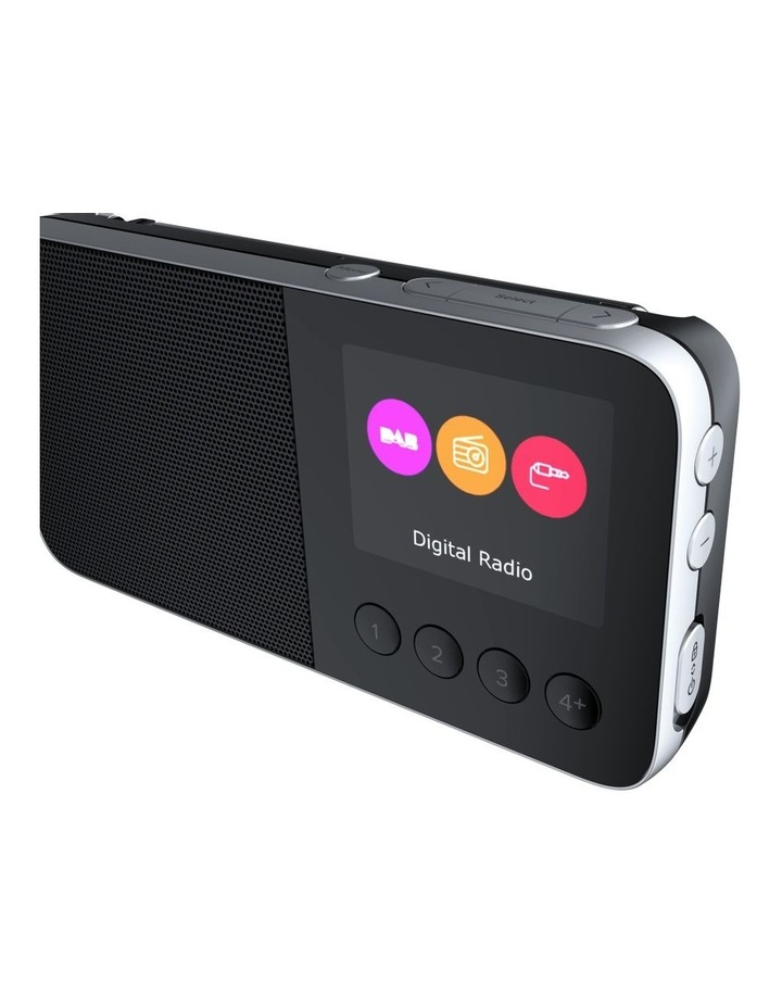 Pure Move T4 Personal DAB /FM Radio w/ Bluetooth and Built-In Speaker - Black image 3