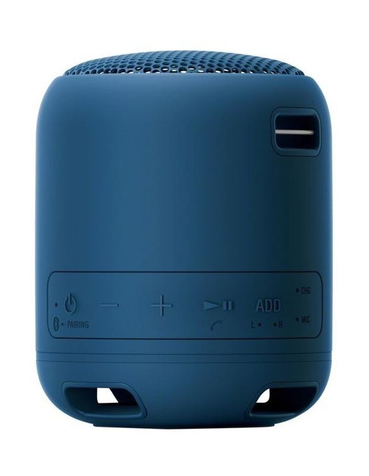 Extra Bass Portable Bluetooth Speaker Blue SRSXB12L image 3
