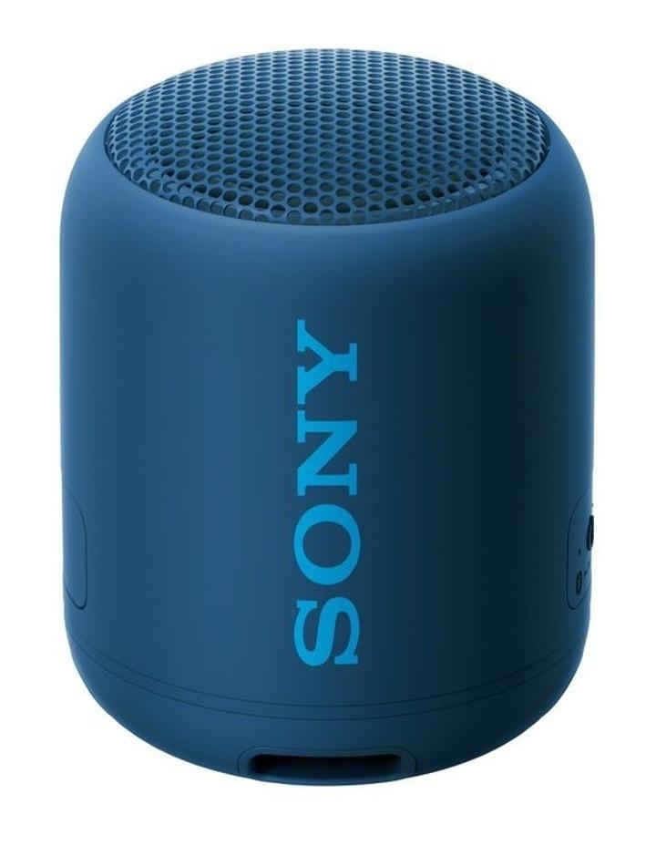Extra Bass Portable Bluetooth Speaker Blue SRSXB12L image 4
