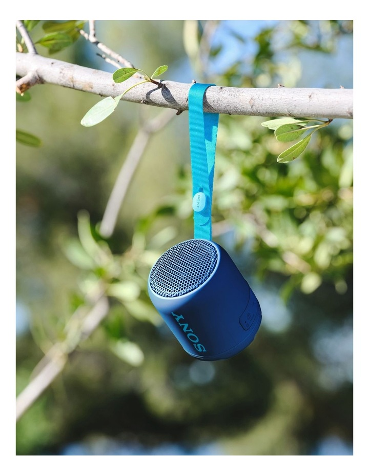 Extra Bass Portable Bluetooth Speaker Blue SRSXB12L image 6