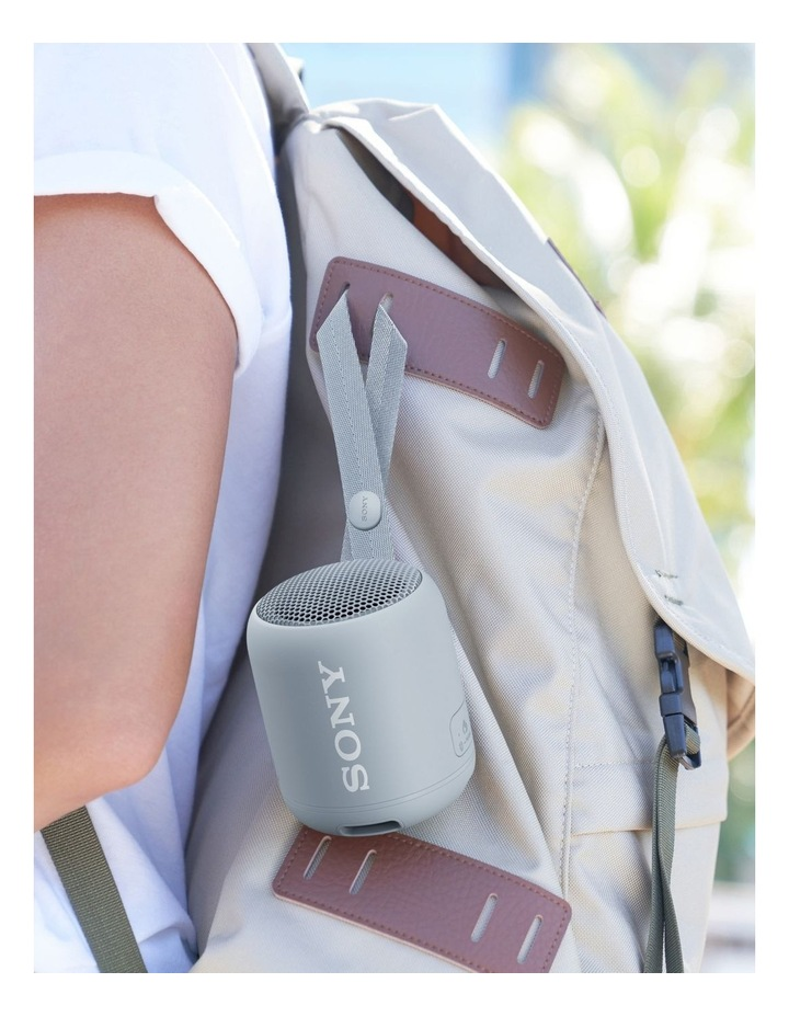 Extra Bass Portable Bluetooth Speaker Grey SRSXB12H image 7