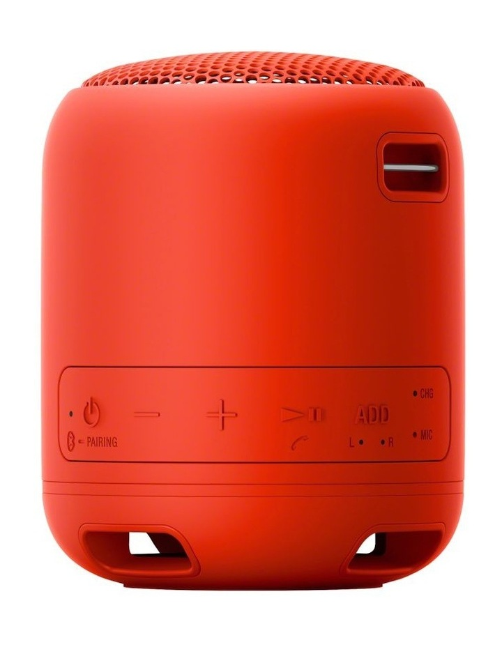 Sony Extra Bass Portable Bluetooth Speaker Red image 3