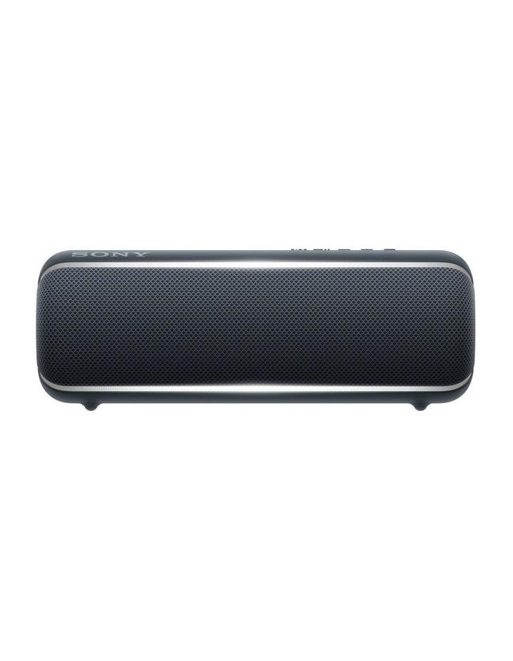 Extra Bass Portable Bluetooth Speaker Black image 1