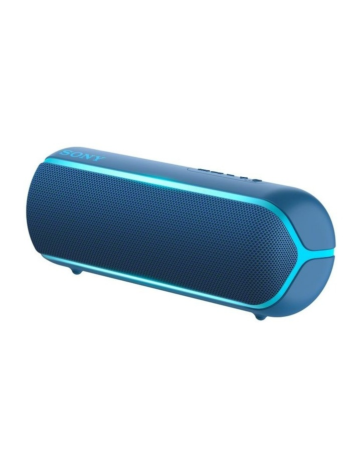 Extra Bass Portable Bluetooth Speaker Blue SRSXB22L image 2