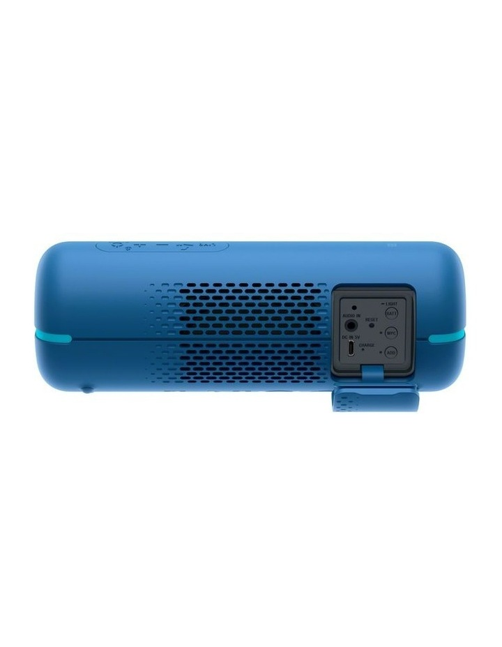 Extra Bass Portable Bluetooth Speaker Blue SRSXB22L image 3