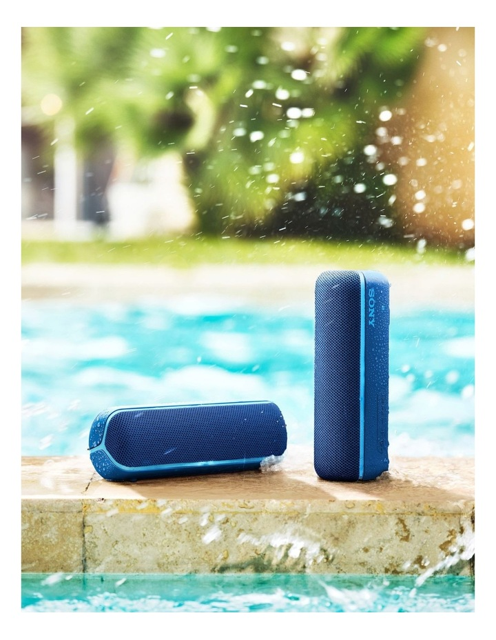 Extra Bass Portable Bluetooth Speaker Blue SRSXB22L image 6