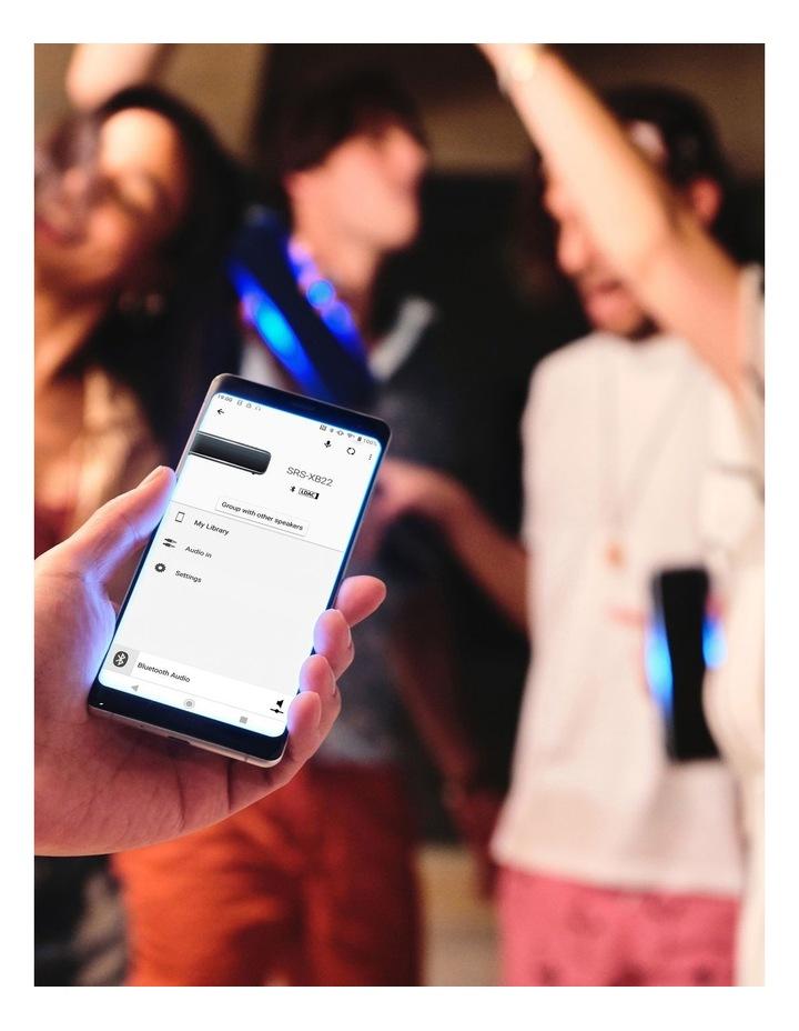 Extra Bass Portable Bluetooth Speaker Grey image 7