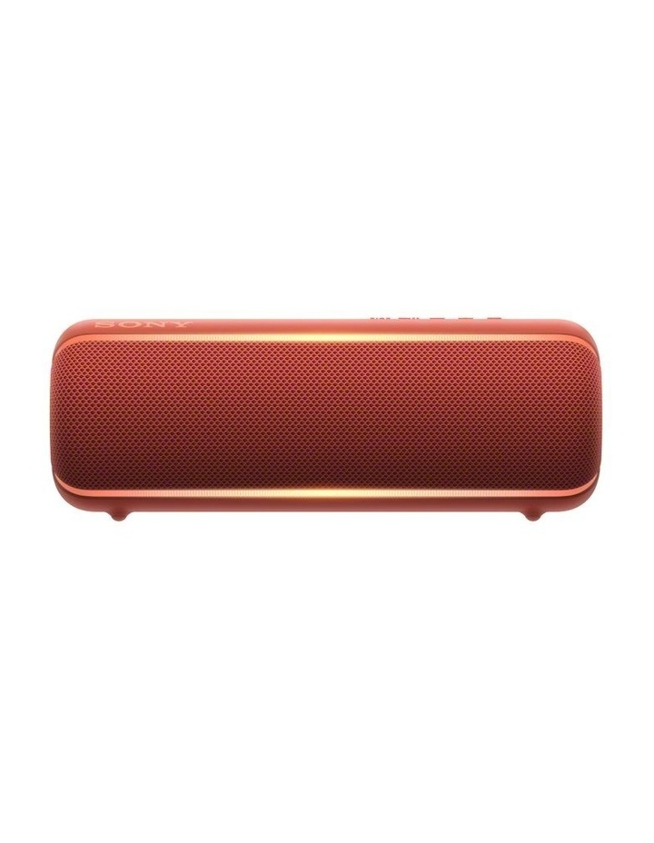 Extra Bass Portable Bluetooth Speaker Red image 1