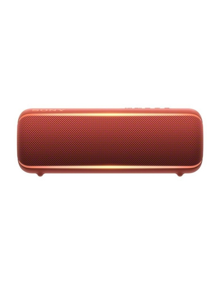 Sony Extra Bass Portable Bluetooth Speaker Red image 1