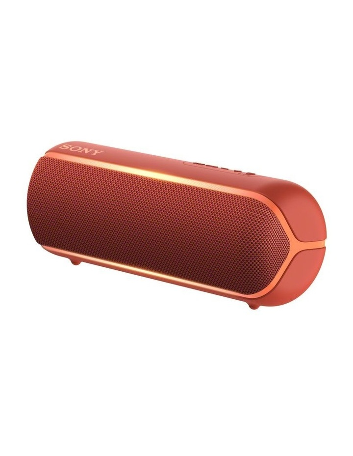 Sony Extra Bass Portable Bluetooth Speaker Red image 2