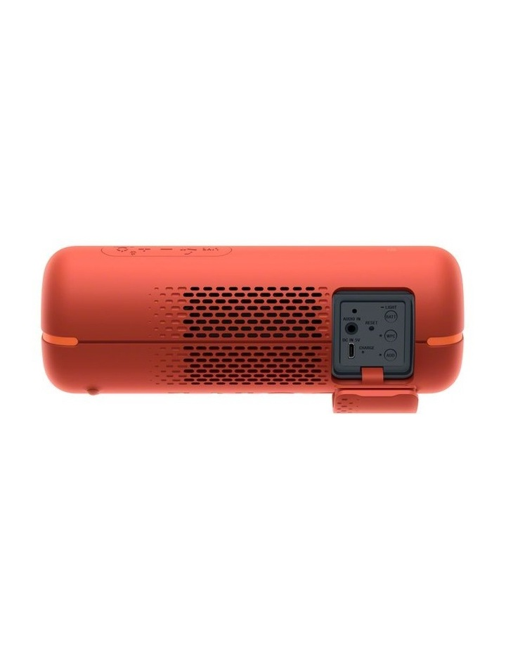 Extra Bass Portable Bluetooth Speaker Red image 3