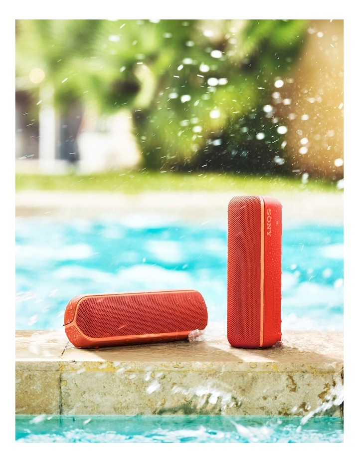 Sony Extra Bass Portable Bluetooth Speaker Red image 6